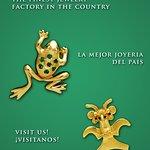 Joyeria inspirada en la naturaleza y el arte precolombino de Costa Rica