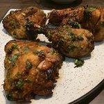 Tandoori Chicken With Roomali Roti
