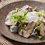 Mixed Lettuce Salad, smoked Duck Breast, Egg 63°