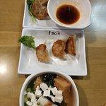 yaki gyoza & soup