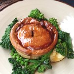 Great Steak and Ale pie from the conservatory bar.