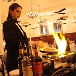 bananas foster prepared table side