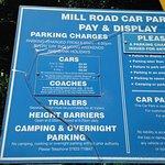 Car park info
