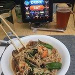 Spicy shrimp rice noodles!!!