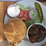 Rathskeller chicken sandwich