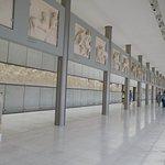 Parthenon display on top floor