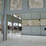 Parthenon Display Acropolis Museum