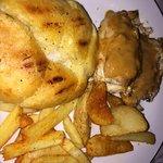 ...Mmmmmm-h! Fired up chicken