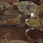 Diner: naan, safraan rijst, chicken tikka massala.