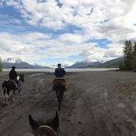 Approaching the Knik River