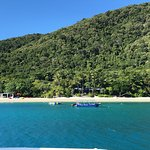 Arriving on Fitzroy Island