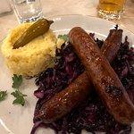 Chili Slovak Sausage Plate