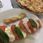 Caprese Salad/ Margherita Pizza