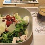 Brussels, G.Spud Jourdan, Caesar salad