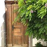 Im schönen Garten der Brasserie Süsswinkel