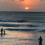 Sunset at Dreamland Bali