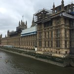 House of Parliament view from the Thames
