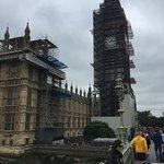 Big Ben under wraps. :(