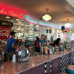 Busy soda fountain (inside)