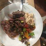 Steak with truffle