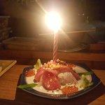 Sashimi Cake!