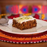 Our heavenly carrot cake is one of the mostly selling cake in the house.