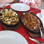 Great food at the imperial city sizzling beef and  chicken amazing and the spring rolls are to d