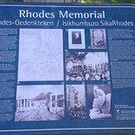 Rhodes Memorial Entrance