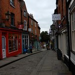 Lovely shops and cafes