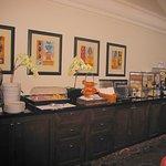 Buffet breakfast bar