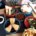 Some of the delicious tapas options