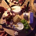 Speck und Käseplatte