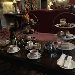 Afternoon tea -Langley Castle Restaurant