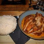 Phantastisches Tomahawk Steak und vortreffliches Thaicurry