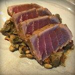 Wonderful seared tuna