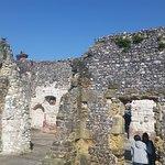 Arundel - Blackfriar's Ruin walls
