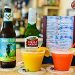 Special drinks in house at Live Crawfish & Seafood restaurant in Rockville MD