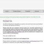 Website - contact info