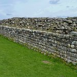 Section of Hadrian's Wall, viewed westwards