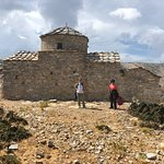 Hagia Kyriaki church--a Byzantine church dating back to the 8th or 9th century.