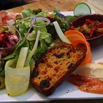 House combo salad - very good!