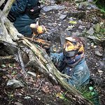 Adventure21 Lake District paintball site near Coniston
