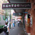 More shops in Chinatown