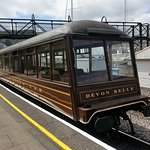 The Devon Belle observation carriage, only 2 exist in the world.