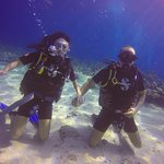 Diving with Jdean