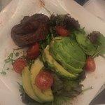 Filete Portales con ensalada como variante