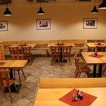 Prostředí nově zrekonstruovaného prostoru naší restaurace.