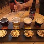 beer tasting board