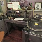 DJ booth - having your song played on radio could make or break you as an artist. It made Elvis
