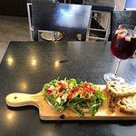Cod Sandwich & Sangria